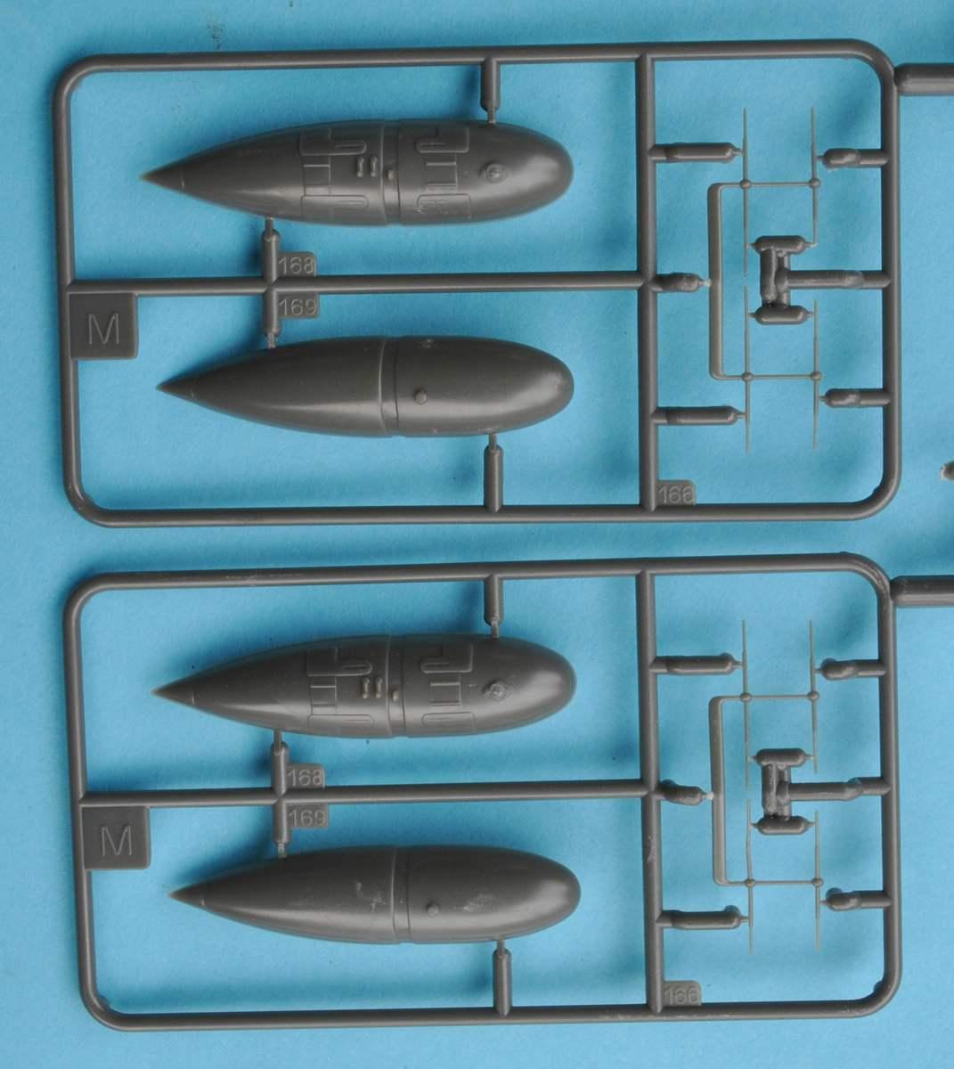 Revell-Me-262B-Testshot-Spritzling-M-2 Messerschmitt Me 262 B-1a Testshot von Revell 1:32