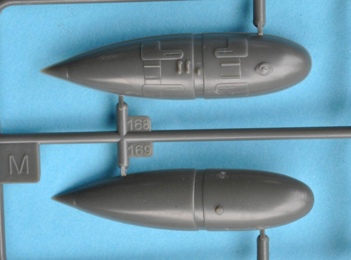 Revell-Me-262B-Testshot-Spritzling-M-3 Messerschmitt Me 262 B-1a Testshot von Revell 1:32