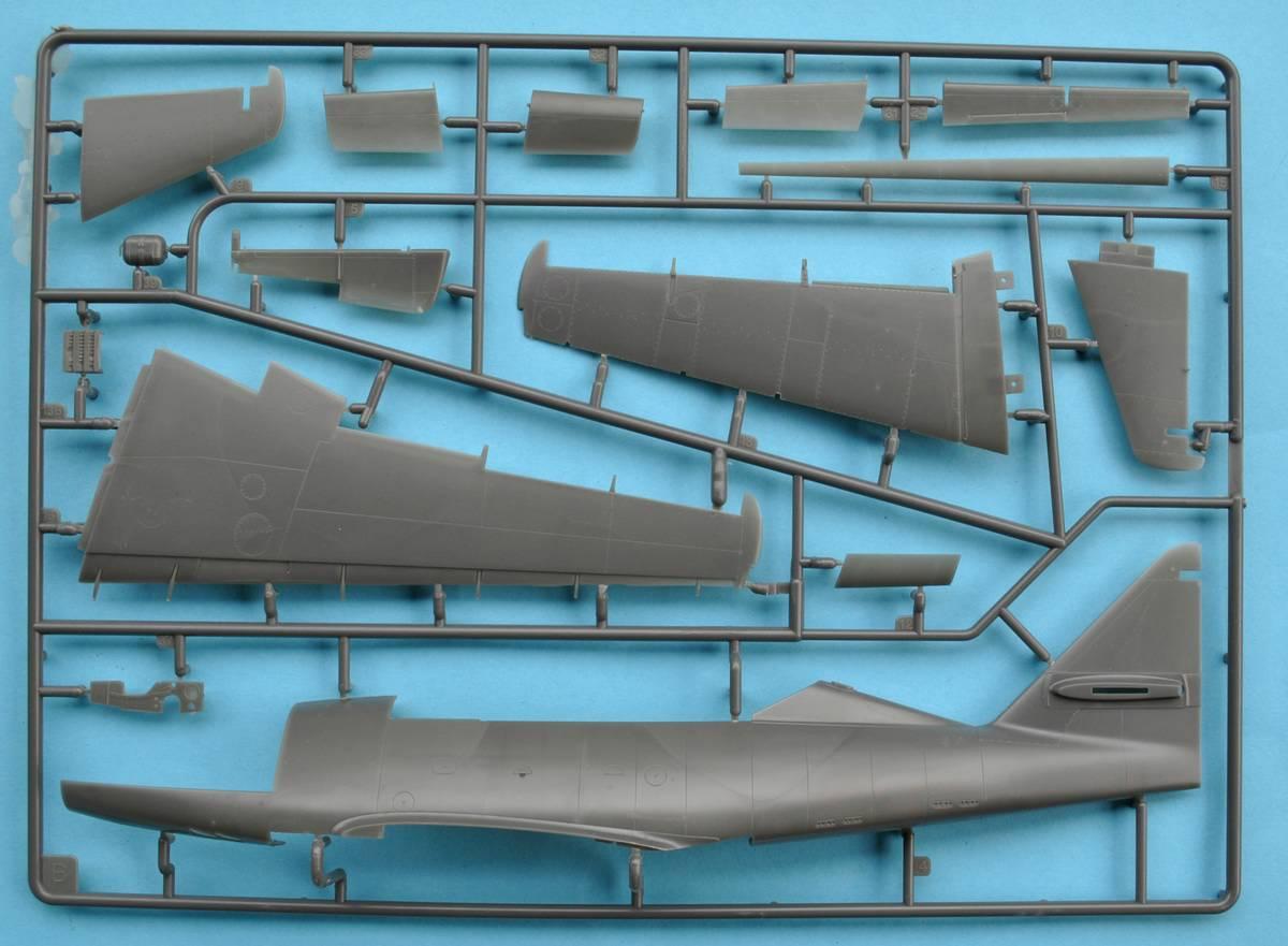 Revell-me-262B-Testshot-Spritzling-B-7 Messerschmitt Me 262 B-1a Testshot von Revell 1:32
