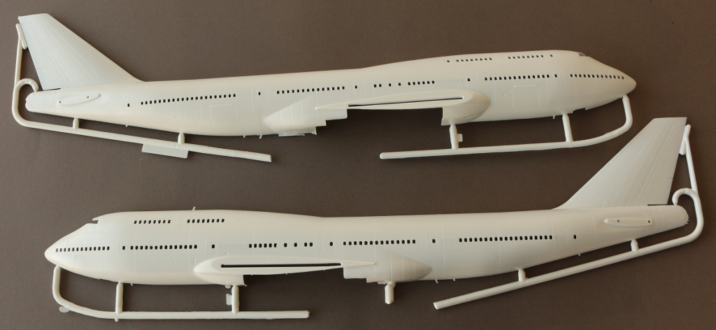 "Rumpf Boeing 747-400 ""Ed Force One"" 1:144 Revell (#04950)"