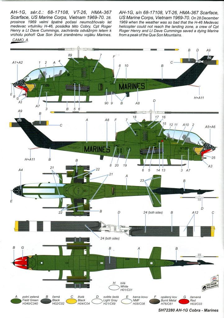 SH_AH-1G_51 AH-1G Cobra - Special Hobby - 1/72 - #SP72280