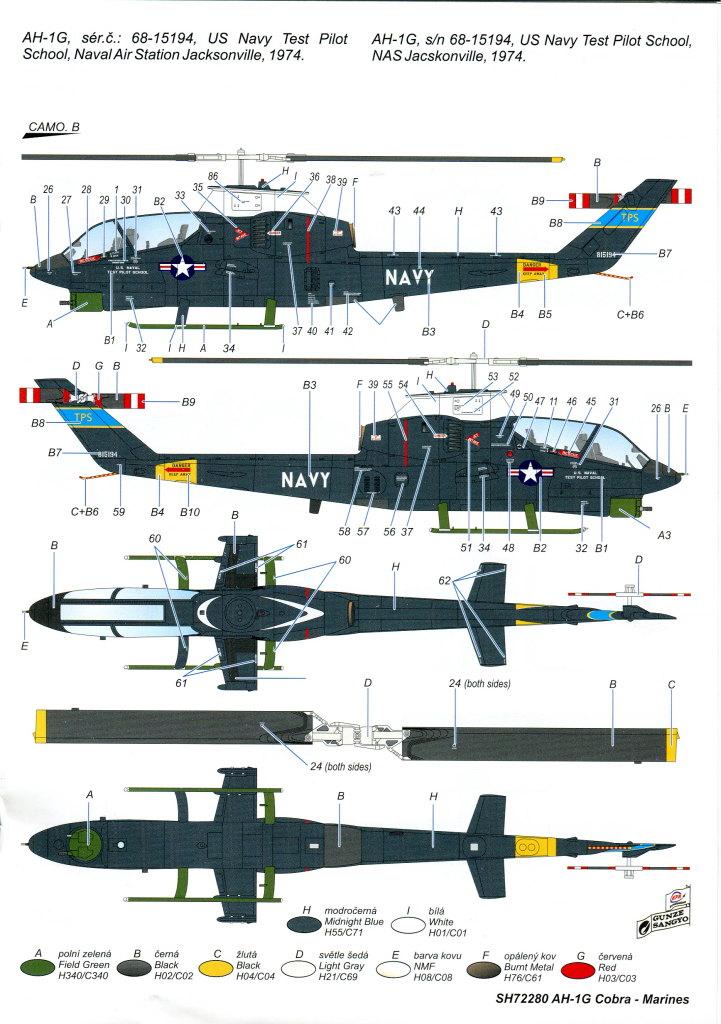 SH_AH-1G_52 AH-1G Cobra - Special Hobby - 1/72 - #SP72280