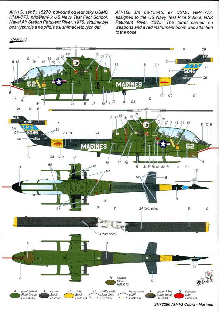 SH_AH-1G_53 AH-1G Cobra - Special Hobby - 1/72 - #SP72280