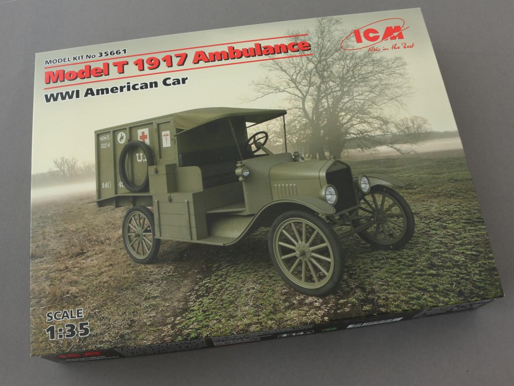 1-1-1 Model T 1917 Ambulance ICM 1:35 (35661)