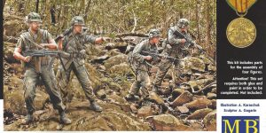 Jungle Patrol, Vietnam War Series Master Box LTD 1:35 (MB3595)