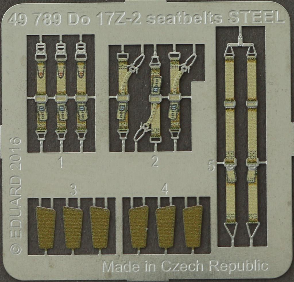 10-1 Diverses Zubehör von Eduard für die Dornier Do-17Z-2 von ICM