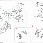 11-150x150 Eduard Brassin P-38F Cockpit for Academy Kit 1:48 (648277)