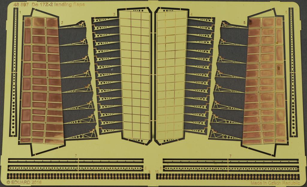 12 Diverses Zubehör von Eduard für die Dornier Do-17Z-2 von ICM
