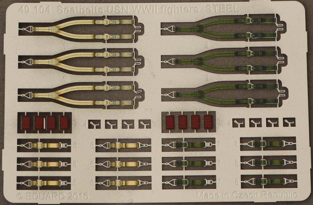 2-2 Seatbelts USN WWII Fighters STEEL 1:48 (49104)