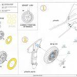 5-1-150x150 BF 109F Wheels 1:48 Eduard (648282)