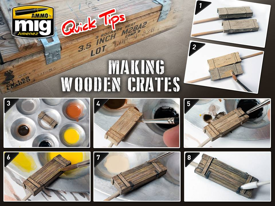 Ammo-by-Mig-Quick-Tip-Making-wooden-crates Ammo by Mig Quick tip: Bemalen von Holzkisten