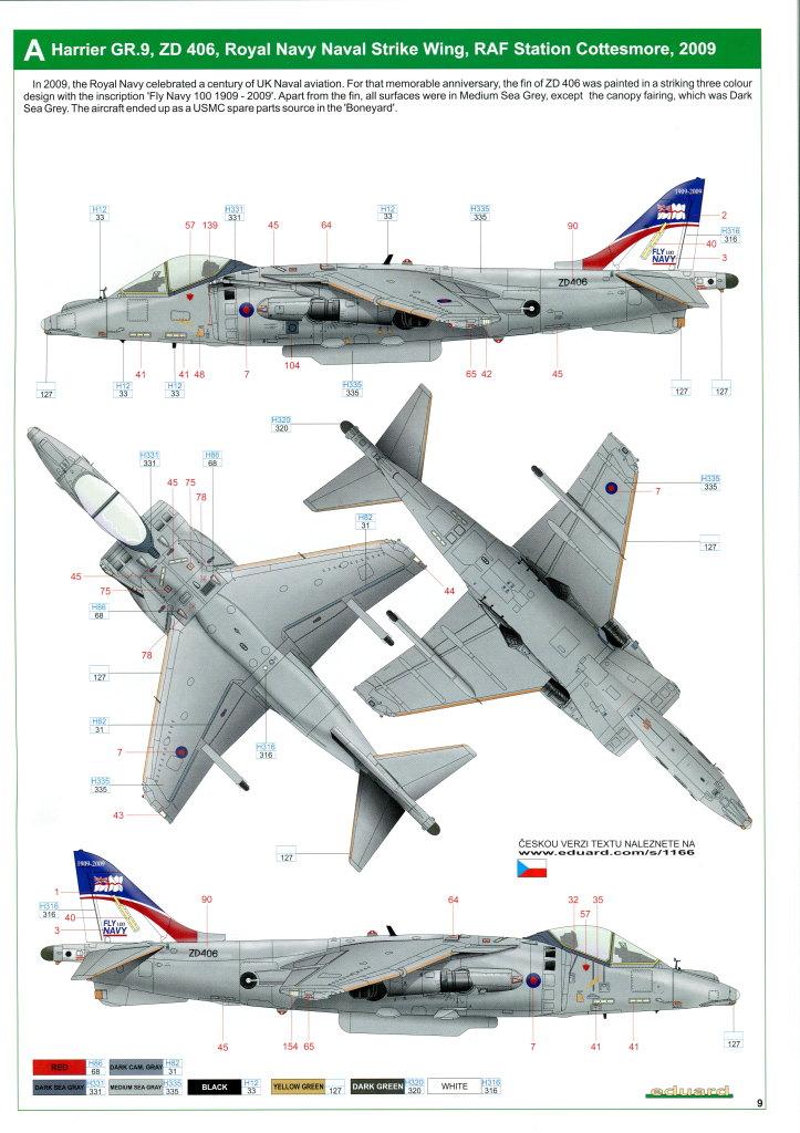 Eduard_Harrier_Limited_064 Harrier GR.7/9 - Eduard 1/48 --- #1166