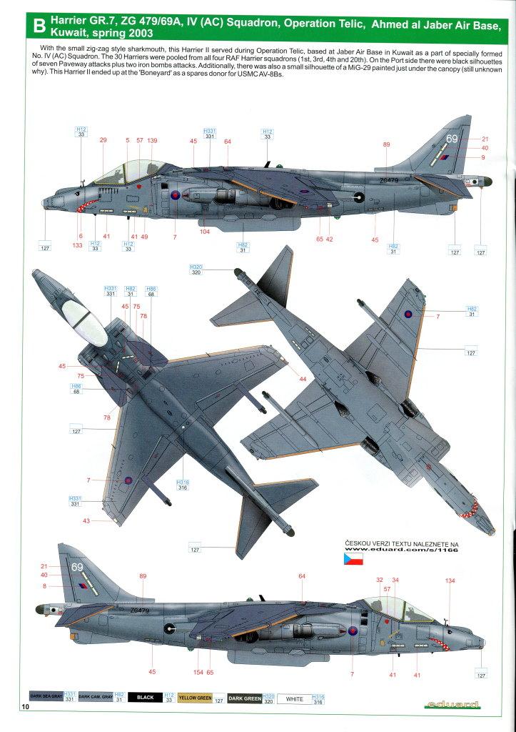 Eduard_Harrier_Limited_065 Harrier GR.7/9 - Eduard 1/48 --- #1166