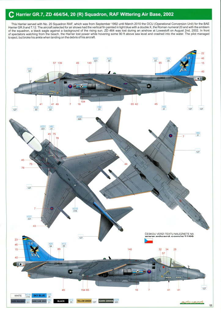 Eduard_Harrier_Limited_066 Harrier GR.7/9 - Eduard 1/48 --- #1166