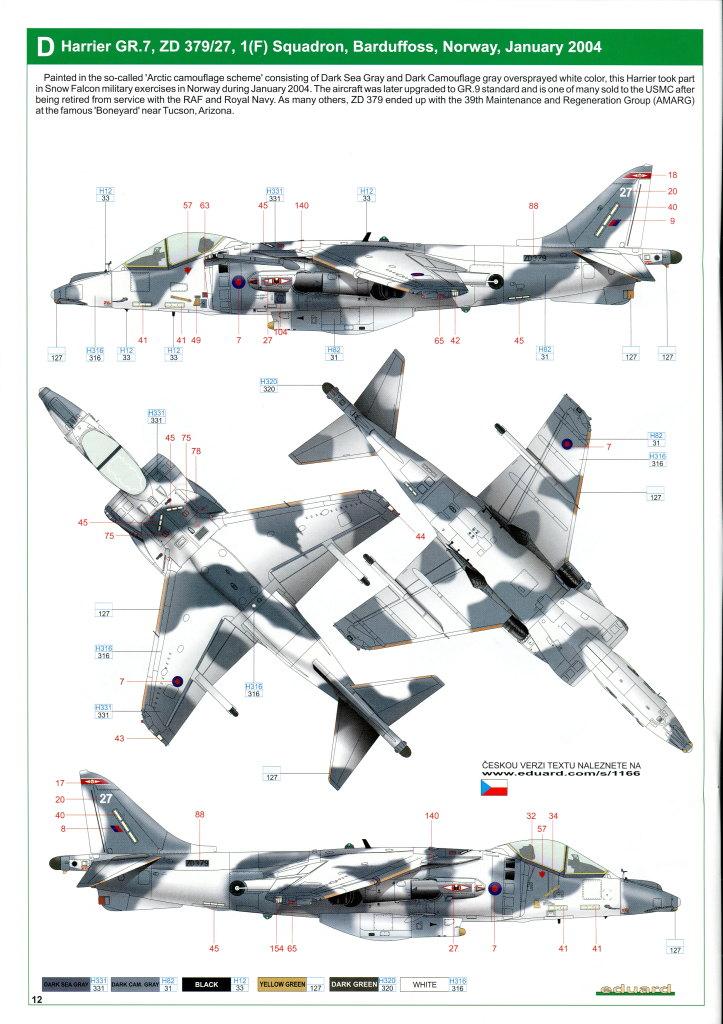 Eduard_Harrier_Limited_067 Harrier GR.7/9 - Eduard 1/48 --- #1166