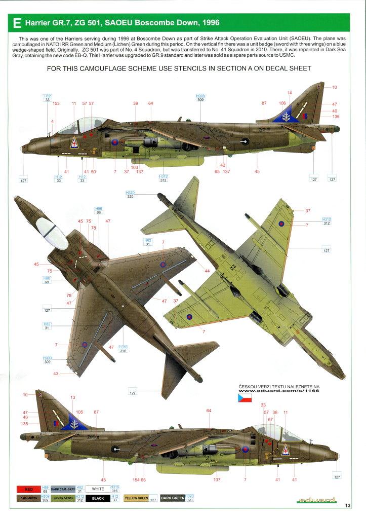 Eduard_Harrier_Limited_068 Harrier GR.7/9 - Eduard 1/48 --- #1166