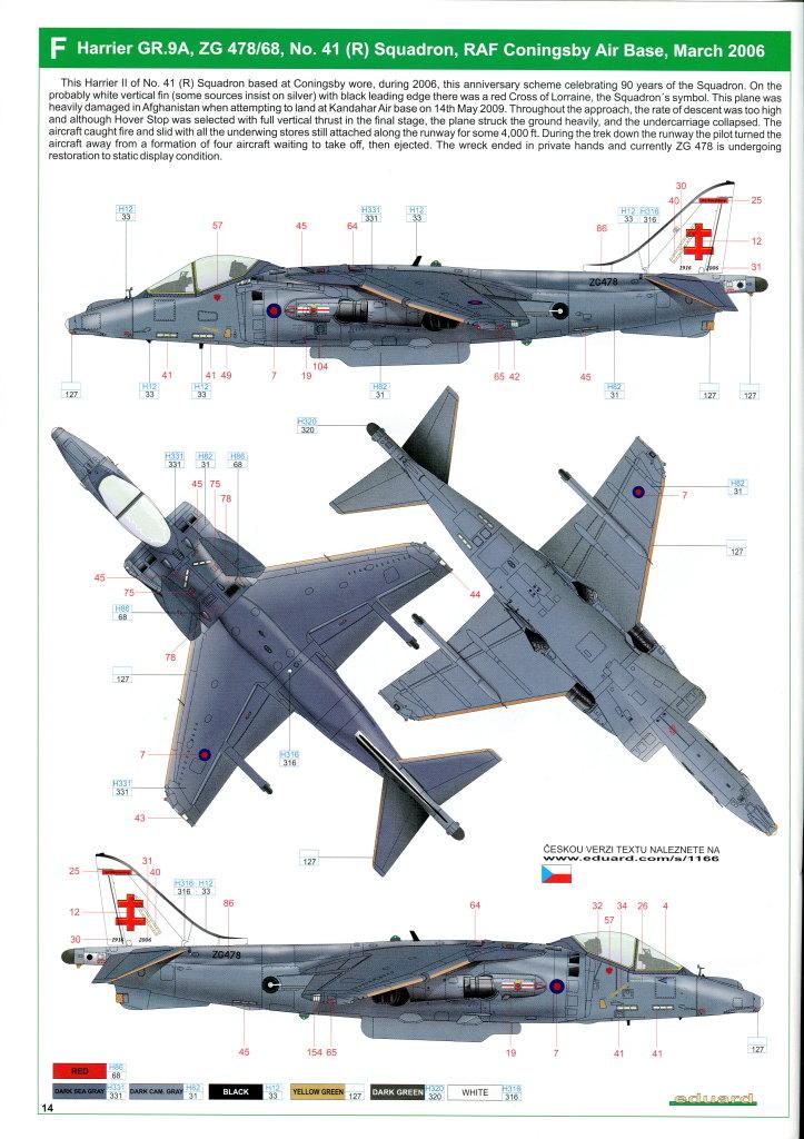 Eduard_Harrier_Limited_069 Harrier GR.7/9 - Eduard 1/48 --- #1166