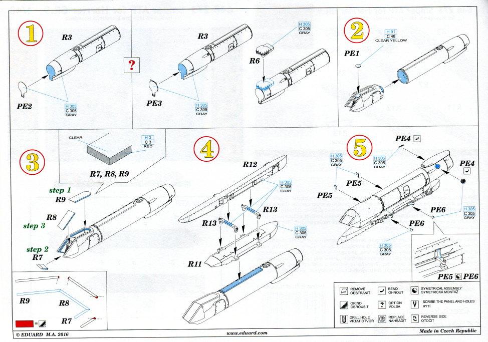 Eduard_Sniper_ATP_11 Zubehör zur Eduard / Hasegawa Harrier Gr.7/9 - 1/48