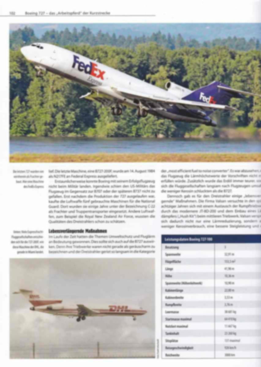 FliegerRevue-X-Heft-59-Boeing-727-4 FliegerRevue X - Rollout der Boeing 727