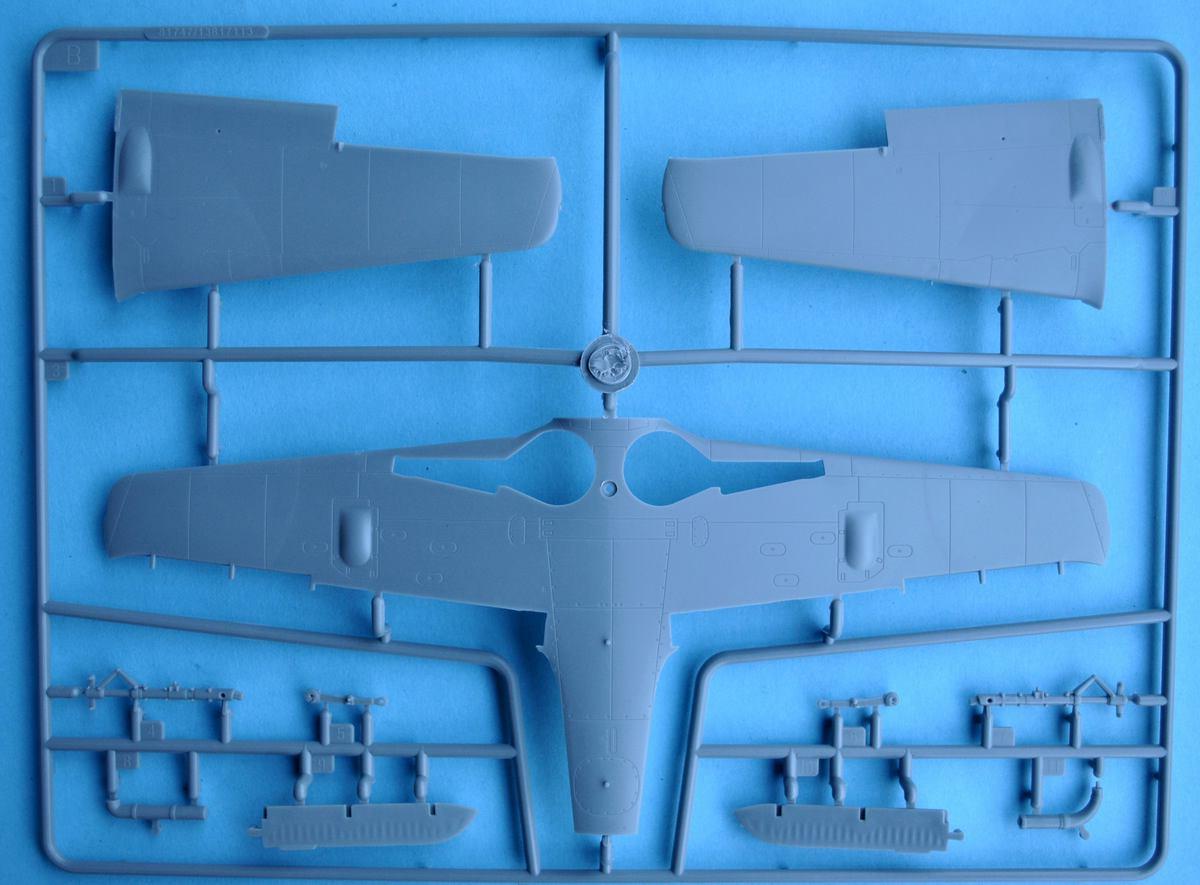 HobbyBoss-81747-FW-190-V18-20 FW 190 V18 von Hobby Boss im Maßstab 1:48 (# 81747 )