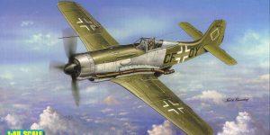 FW 190 V18 von Hobby Boss im Maßstab 1:48 (# 81747 )