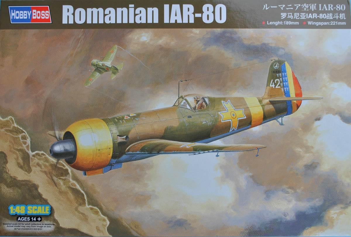 HobbyBoss-81757-IAR-80-11 IAR 80 von Hobby Boss im Maßstab 1:48 (# 81757 )