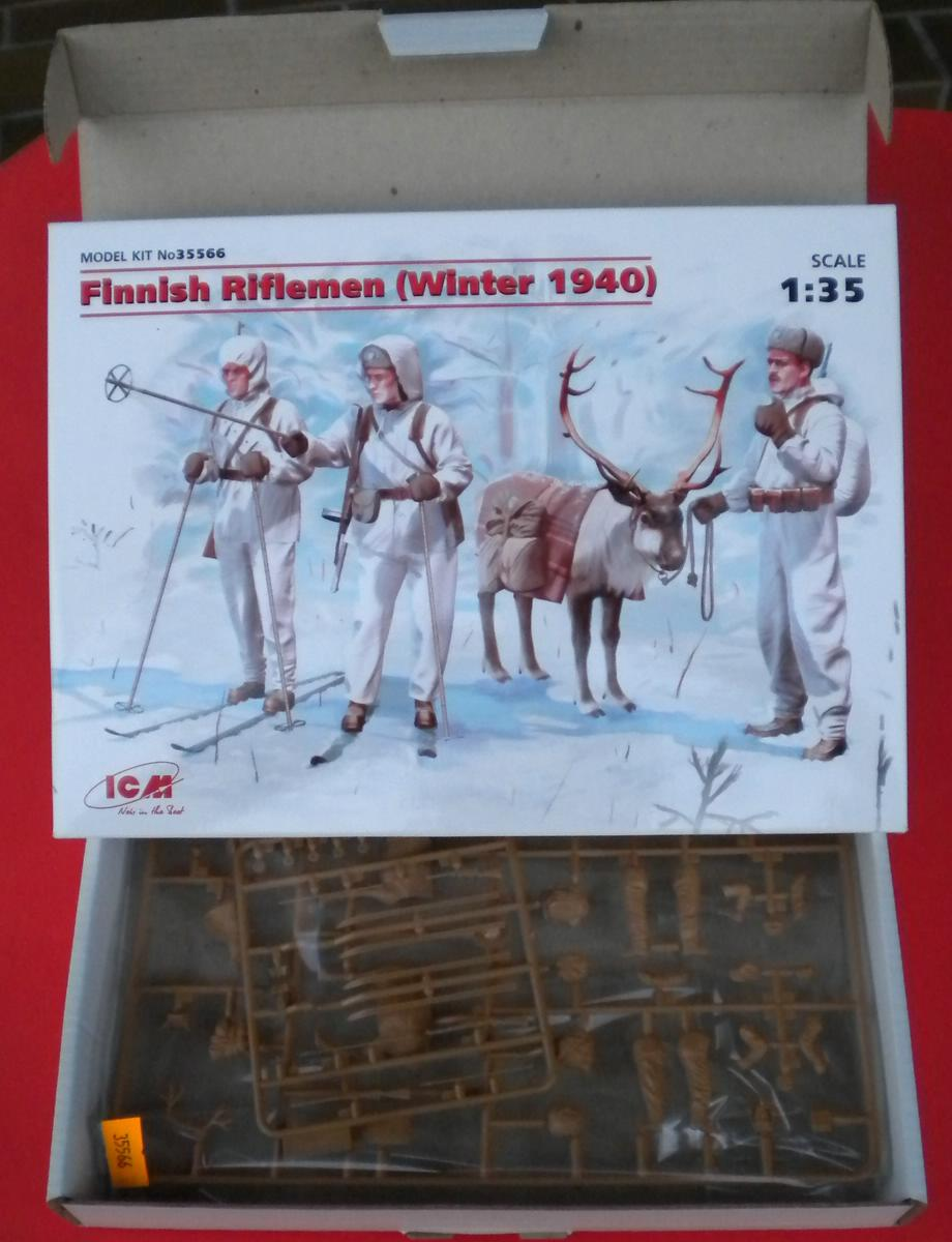 ICM-35566-Finnish-Riflemen-Winter-1940-6 Finnish Riflemen Winter 1940 von ICM (# 35566)