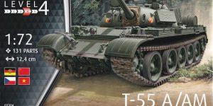 Der neue T-55 A/AM von Revell in 1:72 ( 03304)