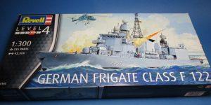 German Frigate Class F 122 von Revell (1:300  #05143 )