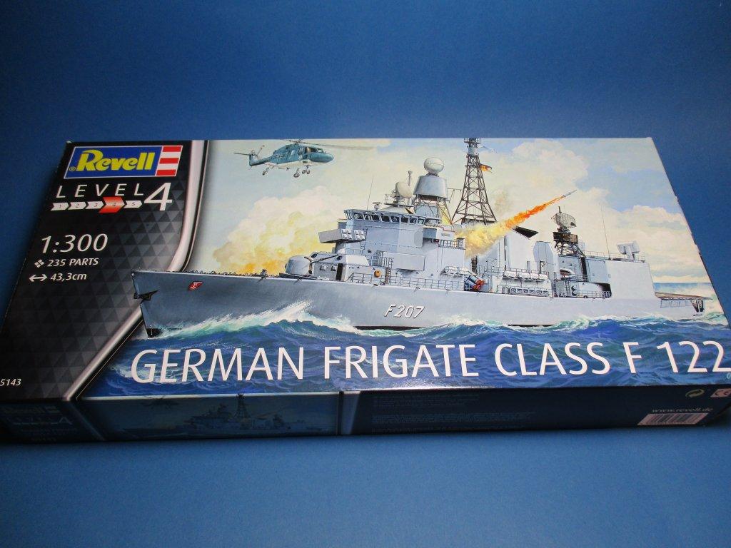 Revell-05143-German-Frigate-Class-F-122-12 German Frigate Class F 122 von Revell (1:300  #05143 )