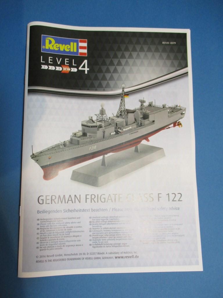 Revell-05143-German-Frigate-Class-F-122-8 German Frigate Class F 122 von Revell (1:300  #05143 )