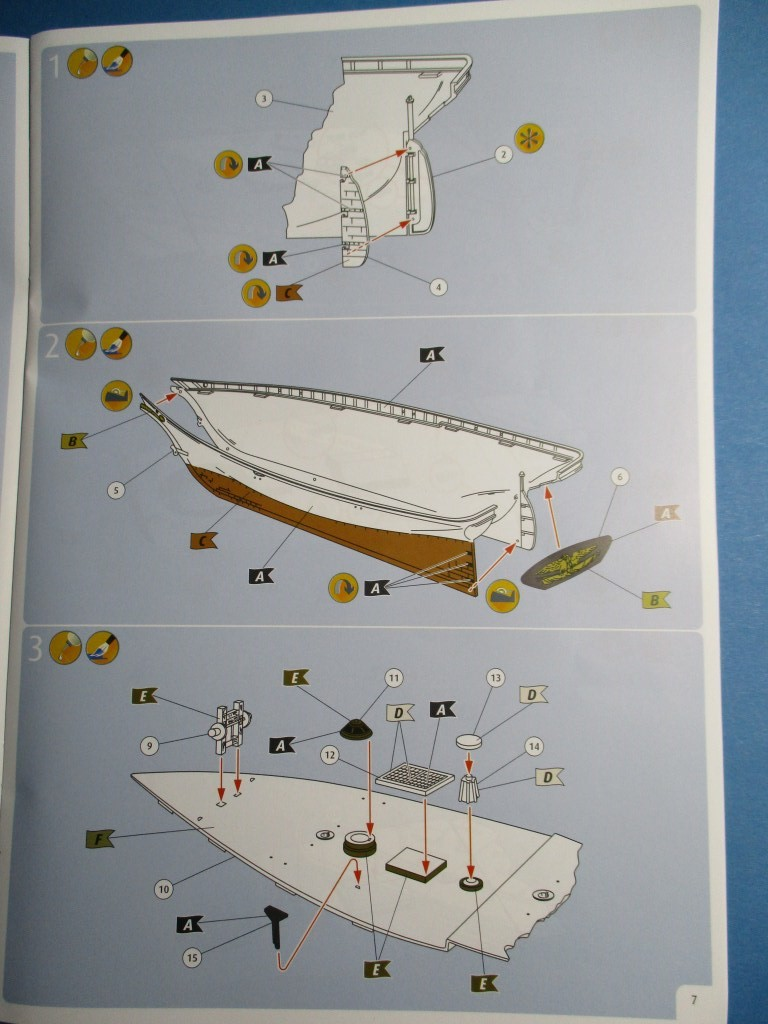 Revell-05416-USS-America-2 Yacht USS America im Maßstab 1:56 von Revell (# 05416 )