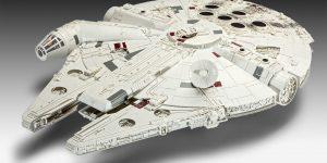 Revells Star Wars Millenium Falcon im Maßstab 1:72