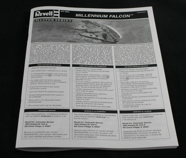 Revell-5093-Millennium-Falcon-14 Revells Star Wars Millenium Falcon im Maßstab 1:72
