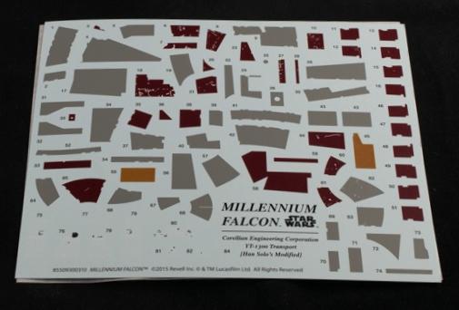 Revell-5093-Millennium-Falcon-15 Revells Star Wars Millenium Falcon im Maßstab 1:72
