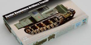 Artillerietraktor Komintern im Maßstab 1:72 von Trumpeter (# 07120 )