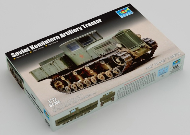 Trumpeter-7120-Komintern-Artillery-tractor-1 Artillerietraktor Komintern im Maßstab 1:72 von Trumpeter (# 07120 )