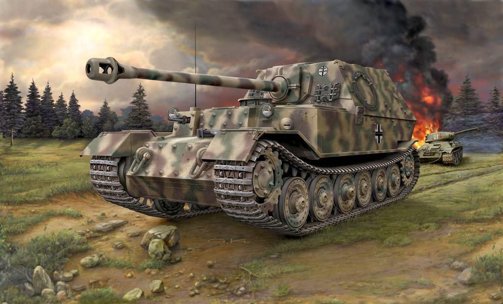 comp_07_03254-Sd.Kfz_.-184-Tank-Hunter-Elefant Direkt von der Revell Neuheitenshow - die Neuheiten des I. Quartals 2017