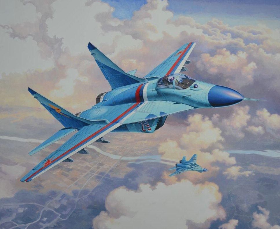 comp_16_03936-MiG-29S-Fulcrum Direkt von der Revell Neuheitenshow - die Neuheiten des I. Quartals 2017