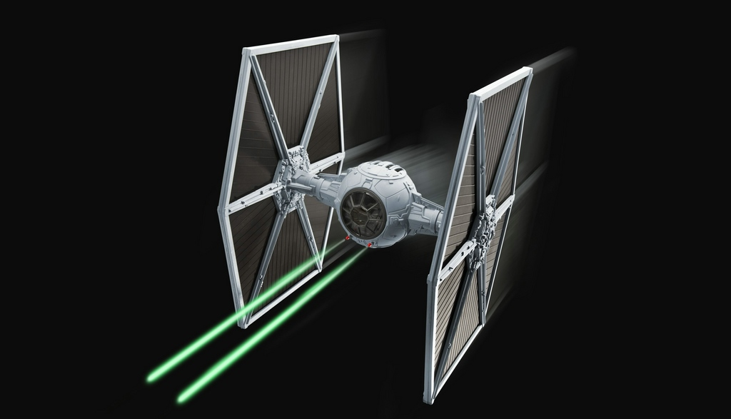 comp_24_06051-TIE-Fighter-40-Years-Star-Wars Direkt von der Revell Neuheitenshow - die Neuheiten des I. Quartals 2017