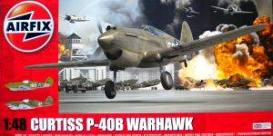 75 Jahre Pearl Harbor – Curtiss P-40B Warhawk 1:48 von Airfix # A05130