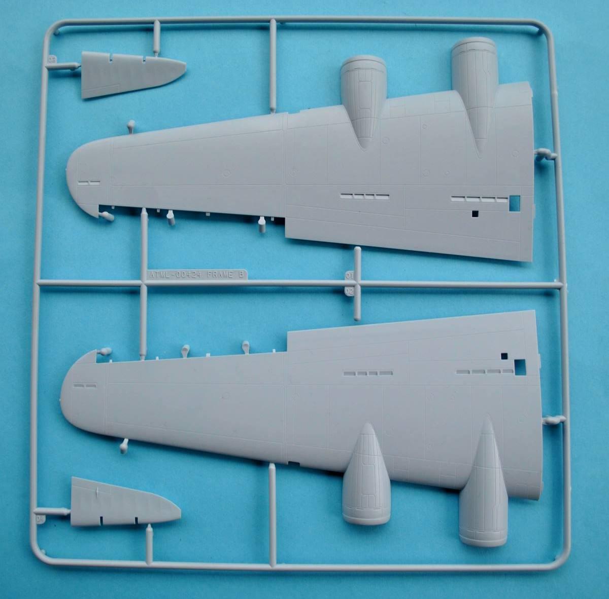 Airfix-A08017-Boeing-B-17G-Spritzling-B-1 Boeing B-17G von Airfix 1:72 ( # A08017)