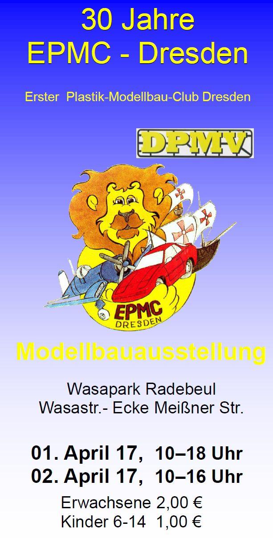 EPMC-Dresden-Ausstellung-2017-1 30. Ausstellung des EPC Dresden in Radebeul am 1./2. April