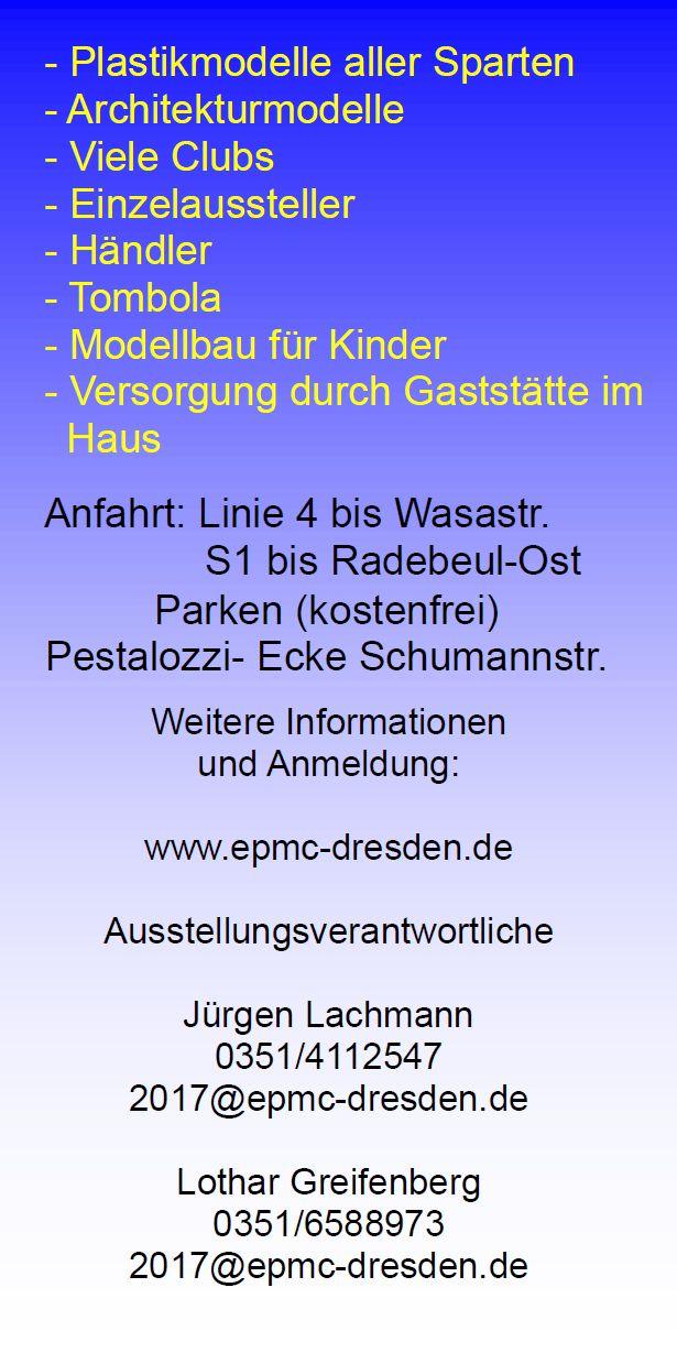 EPMC-Dresden-Ausstellung-2017-2 30. Ausstellung des EPC Dresden in Radebeul am 1./2. April