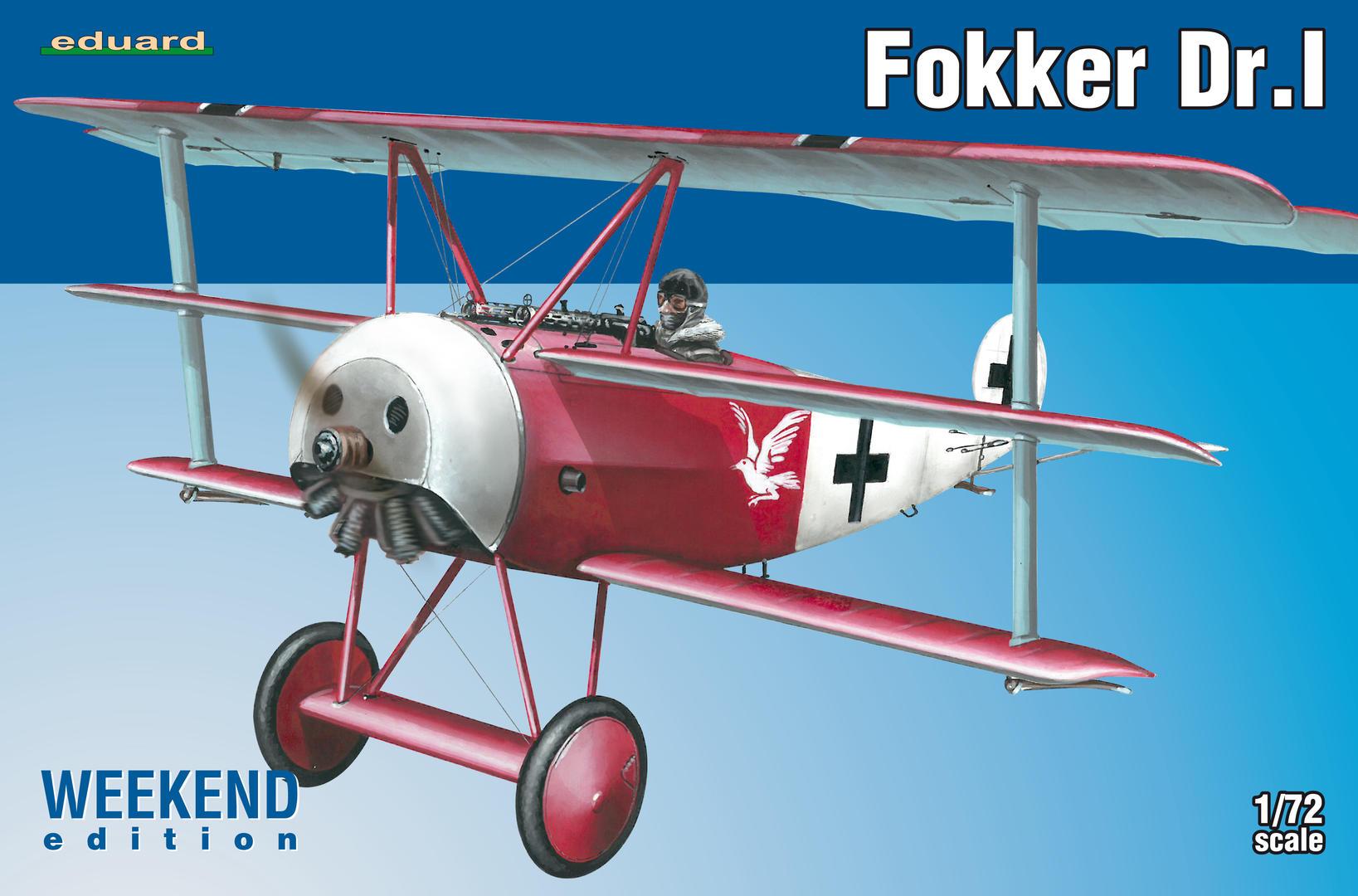Eduard-7438-Fokker-Dr.-I-WEEKEND-9 Fokker Dr. I WEEKEND 1:72 (Eduard # 7438)