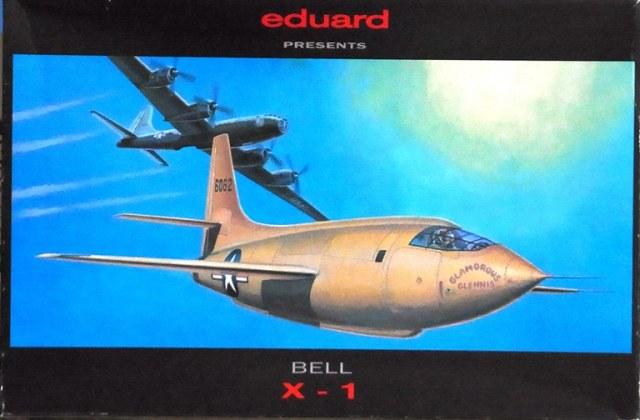 Eduard-8032-Bell-X-1-Machbuster-1997 Eduard X-1 Mach Buster 8079