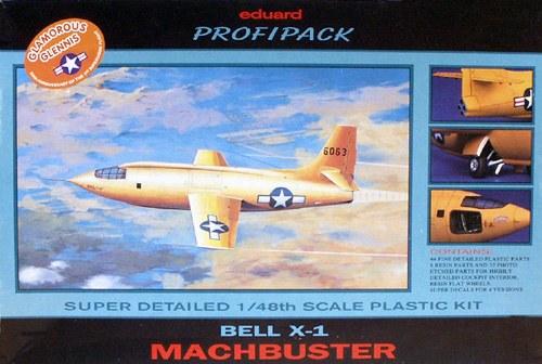 Eduard-8032Bell-X-1-Machbuster-1998 Eduard X-1 Mach Buster 8079