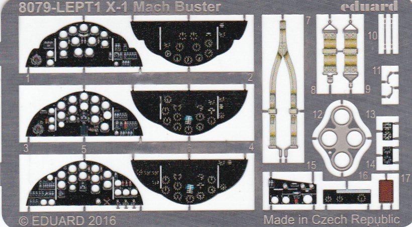 Eduard-8079-Bell-X-1-Machbuster-14 Eduard X-1 Mach Buster 8079