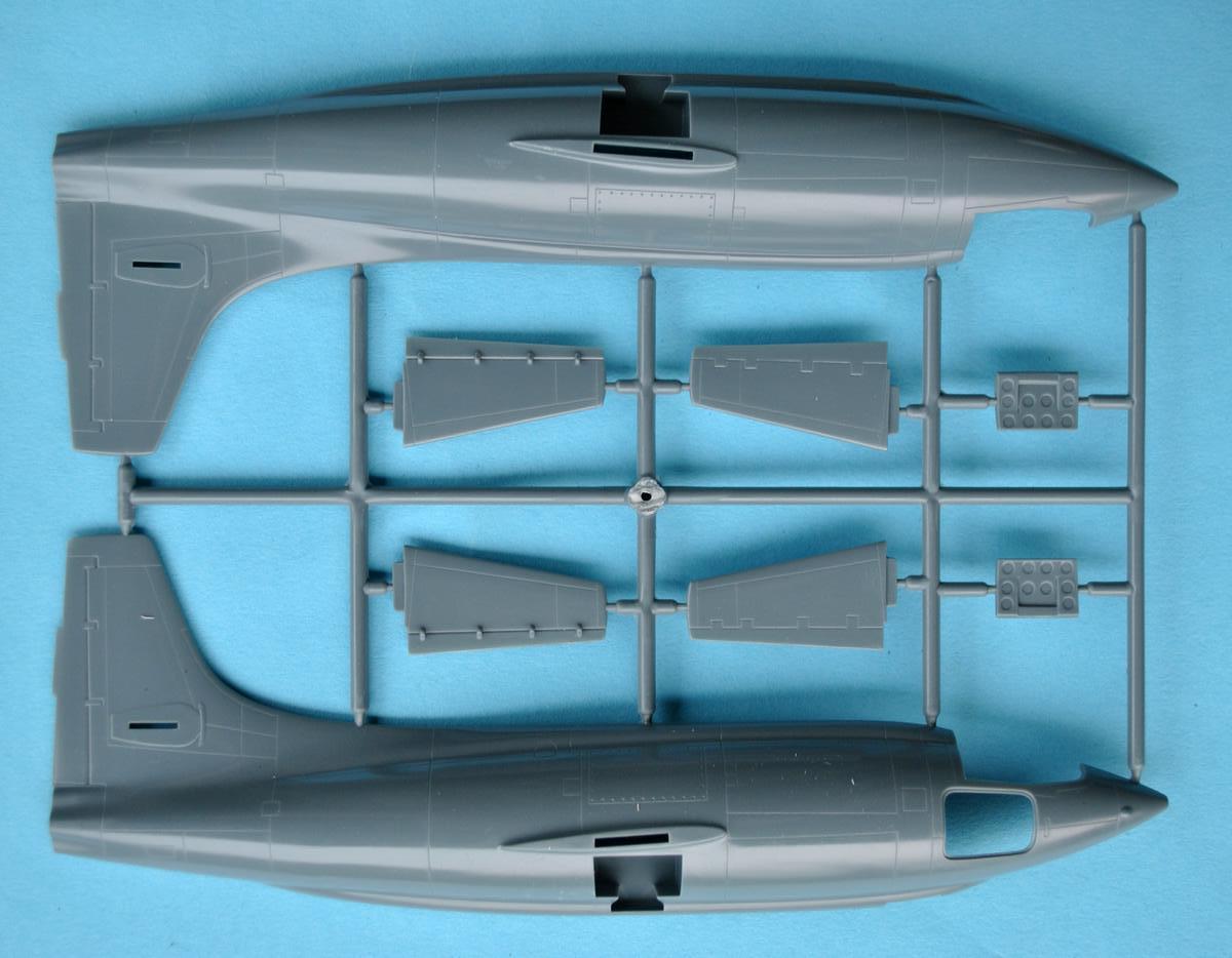 Eduard-8079-Bell-X-1-Machbuster-20 Eduard X-1 Mach Buster 8079