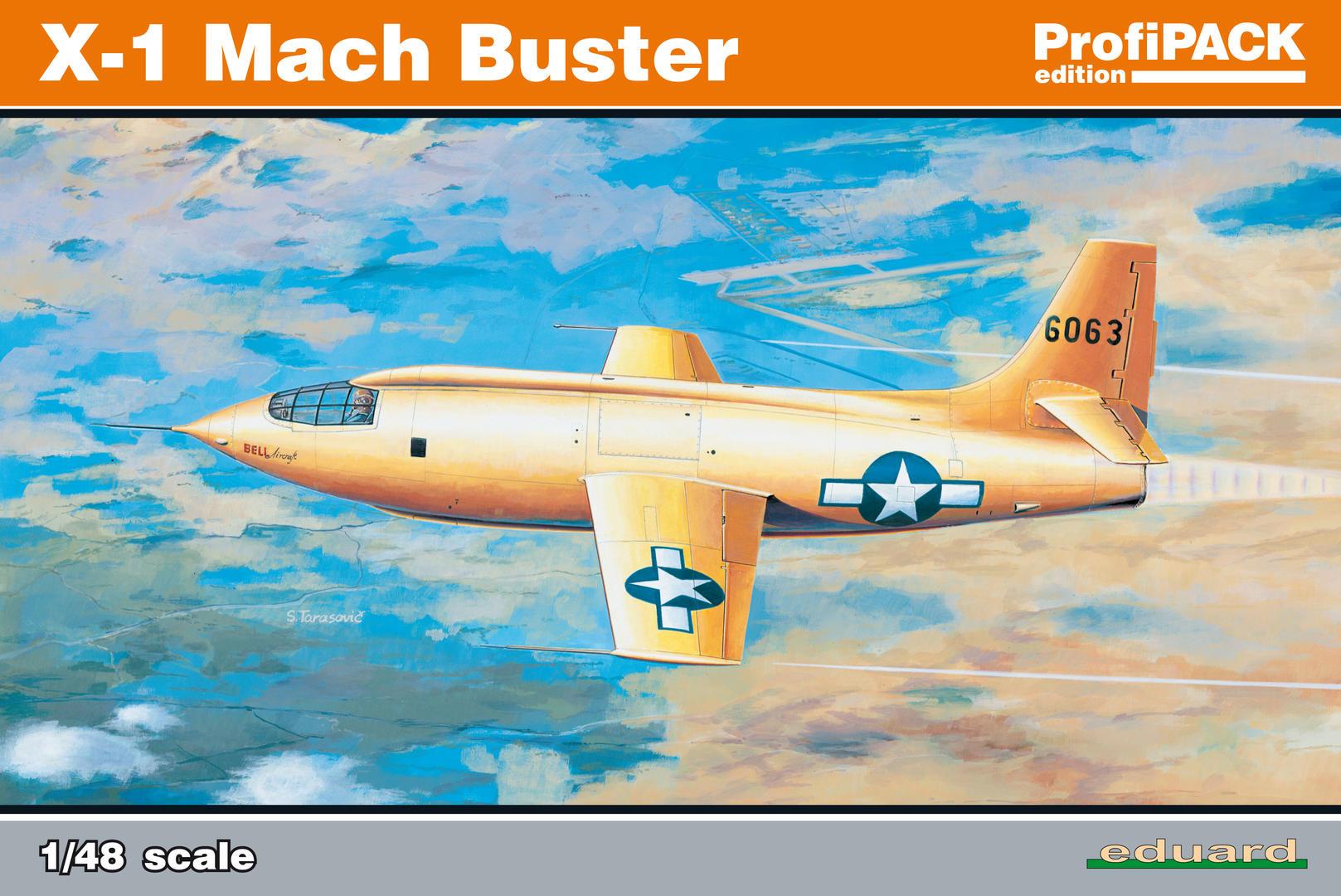 Eduard-8079-Bell-X-1-Machbuster-2017 Eduard X-1 Mach Buster 8079